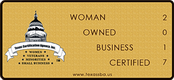 2017 Woman Owned Business Certified